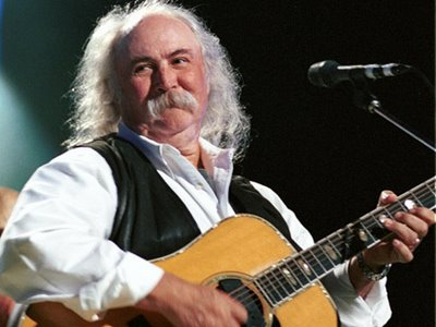 American Musician David Crosby- Crosby, Stills and Nash/ The Byrds-71 Today