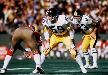 bf2fe1f0b71 The Greatest Athlete To Wear  59 is Pro Football Hall of Fame linebacker- Jack  Ham of the Pittsburgh Steelers.