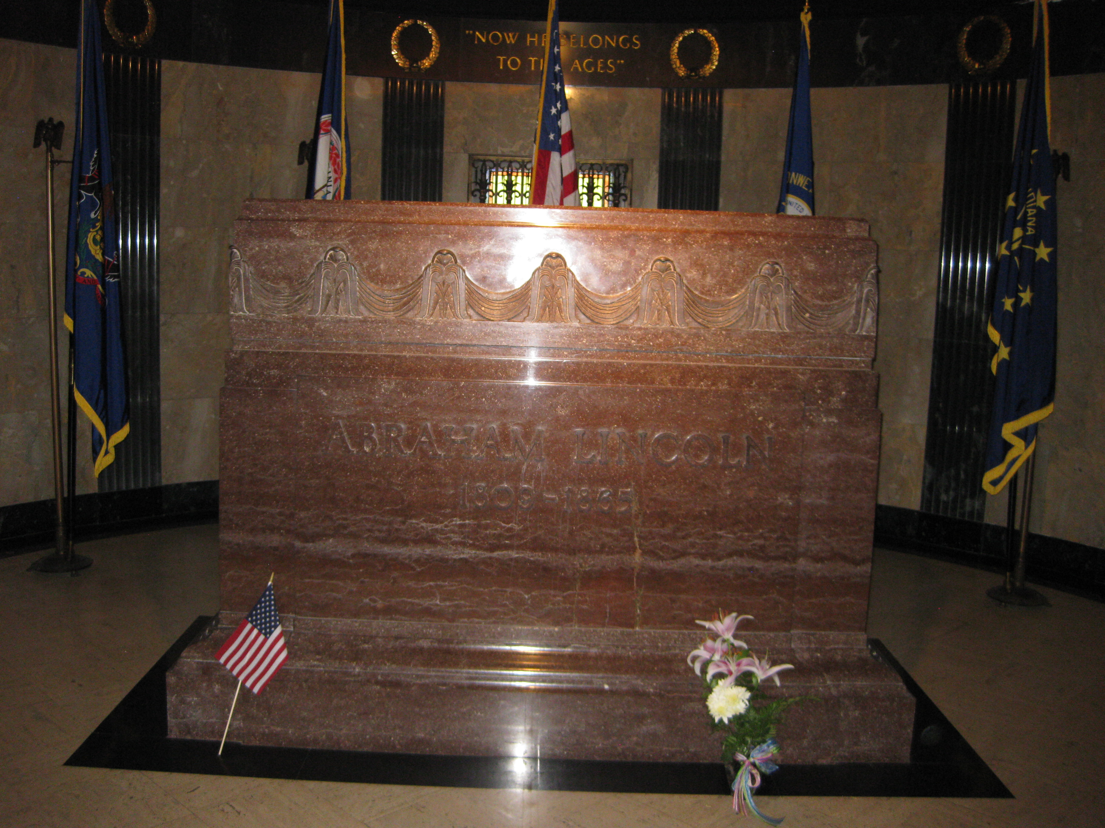 Abraham Lincoln S Final Resting Place Springfield Illinois Slicethelife