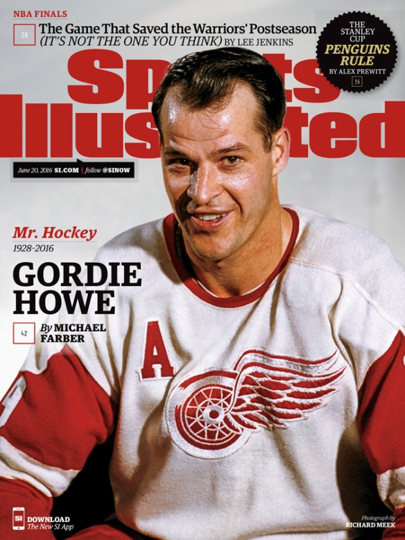 new style e8d62 32812 MR. HOCKEY- GORDIE HOWE BORN THIS DAY 1928 | slicethelife