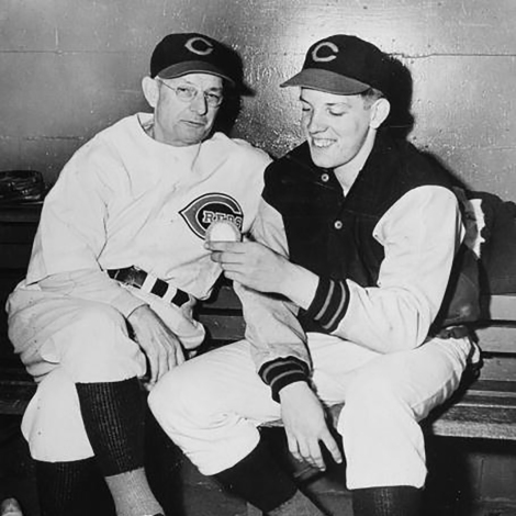Bill McKechnie and Joe Nuxhall