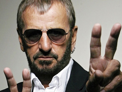 RICHY STARKEY AKA RINGO STARR 77 YEARS OLD TODAY
