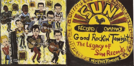 Image result for sun records album cover