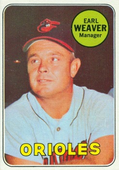 Image result for earl weaver 1968 images