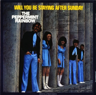 Image result for will you be staying after sunday peppermint rainbow single images