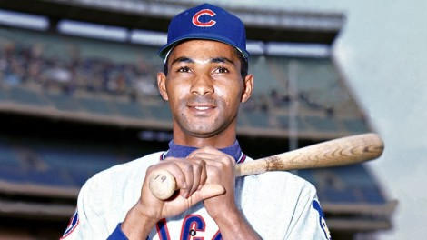 RememberThatCub: Billy Williams - Wrigley Rapport - Medium