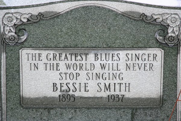 The Cemetery Traveler - by Ed Snyder: Bessie Smith's Grave