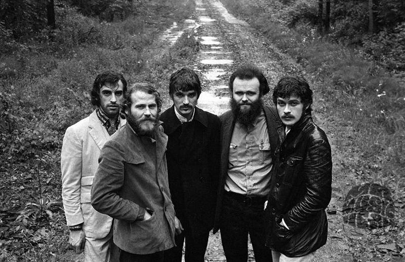 The Band, Woodstock, 1969 by Elliott Landy — Mr Musichead Gallery