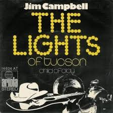 The Lights of Tucson / Child of Clay by Jim Campbell (Single ...