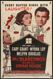 Mr. Blandings Builds His Dream House Movie Poster | 1 Sheet (27x41)  Original Vintage Movie Poster | 6399
