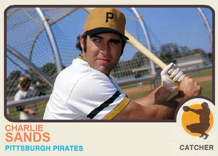 JOHNGY'S BEAT: Cards That Never Were:Charlie Sands 1973 Topps