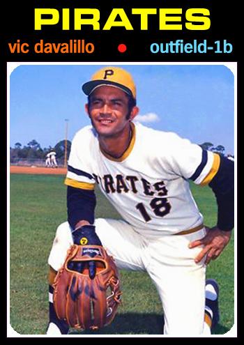 1971 Baseball Card Update: 1971 Pittsburgh Pirates (1st): 97-65, .599, 7UP  - WORLD CHAMPIONS