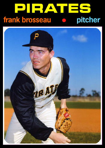 1971 Baseball Card Update: 1971 Pittsburgh Pirates (1st): 97-65, .599, 7UP  - WORLD CHAMPIONS